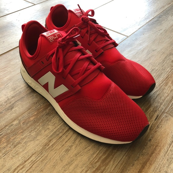 new balance mens red